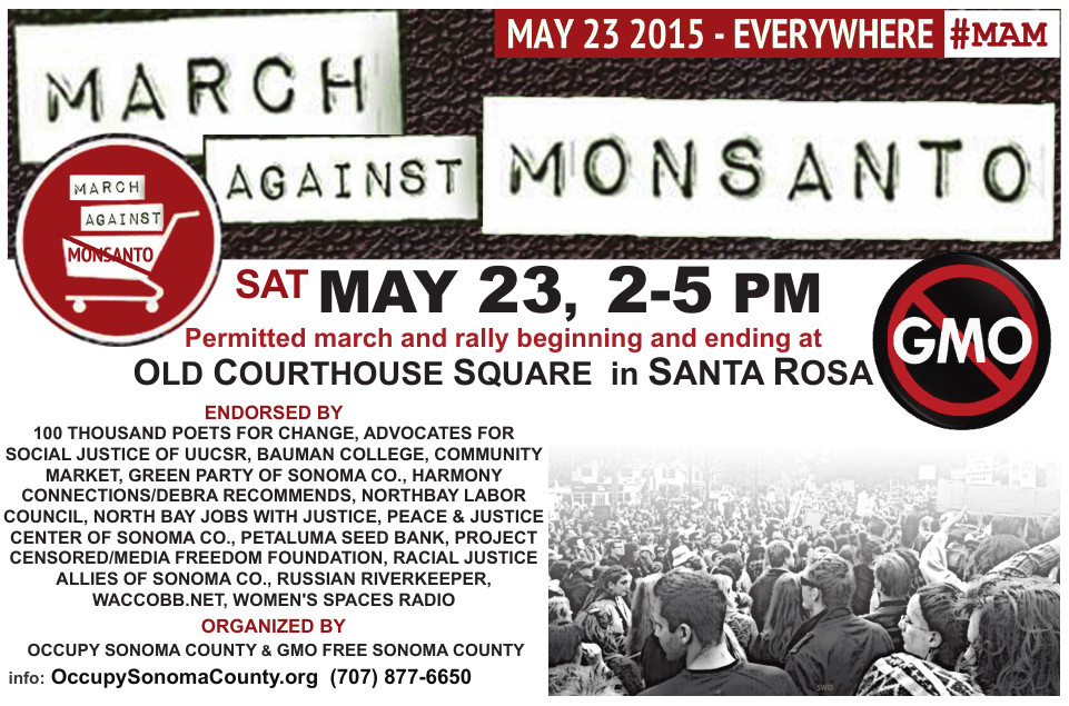 March Against Monsanto - May 23, 2015